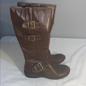 BOC leather brown boots 7.5